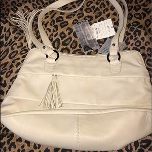 Handbags - 🔖 NWT Nuovedive Cream Italian Leather Purse